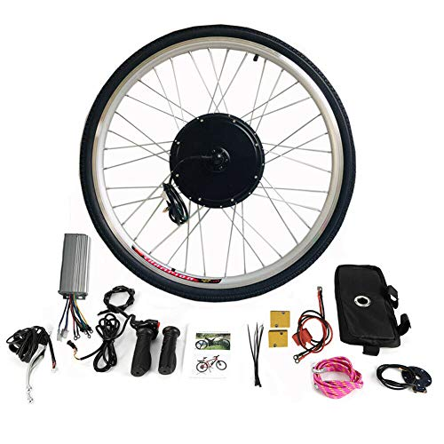 "E-Bike Motor Hub Conversion Electric Bicycle Vorderrad 28"" Umbausatz Kit 36V 250W"