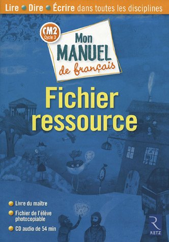 MON MANUEL FRANCAIS CM2 FICHIE