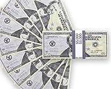 US Dollar Spielgeld Geldscheine - 100 mal $ 50 Scheine Prop Money
