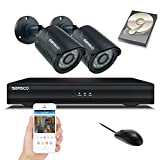 Best Hd Dvrs - SANSCO Smart Security CCTV System, 4-CH 1080N DVR Review