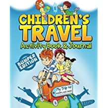 Children's Travel Activity Book & Journal: My Trip to Disneyland Paris
