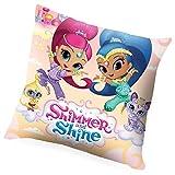 Shimmer&Shine SH17002 Cojín Doble Cara, 40 x 40 cm