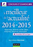 Le meilleur de l'actualité 2014-2015 : Concours et examens 2015 (Concours Ecoles de Management)
