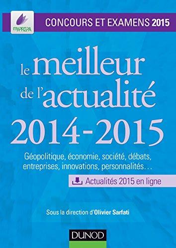 Le meilleur de l'actualit 2014-2015 - Concours et examens 2015