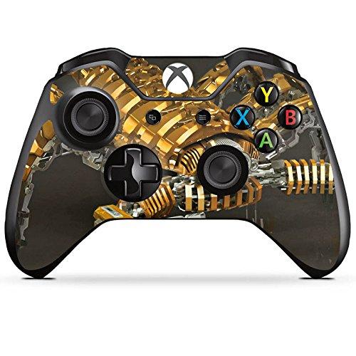 DeinDesign Skin Aufkleber Sticker Folie für Microsoft Xbox One Controller Skorpion Gold Scorpion - Skorpion-controller Xbox 360