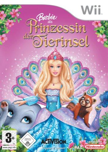 Barbie als Prinzessin der Tierinsel Barbie Wii