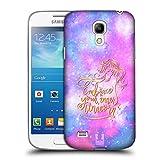 Head Case Designs Abbracciare Unicorni E Galassia Cover Dura per Parte Posteriore Compatibile con Samsung Galaxy S4 Mini I9190