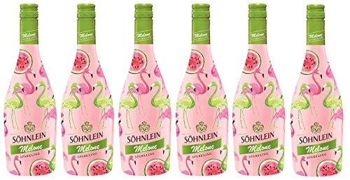 Söhnlein Brillant Sparkling Melone, Flamingo Limited Edition (6 x 0.75 l)
