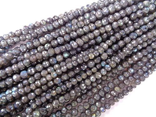 t beschichtet Runde Perlen Strang, 8 Zoll langen Strang, facettierte Perlen Großhandel ()
