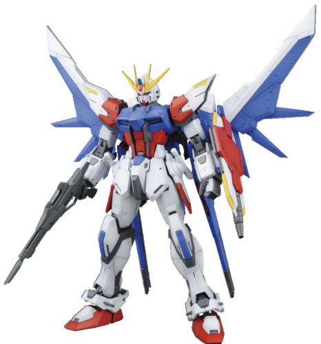 Bandai Hobby MG Bj Strike Gundam Full Paket Model Kit (1/100) (Strike Build Gundam)