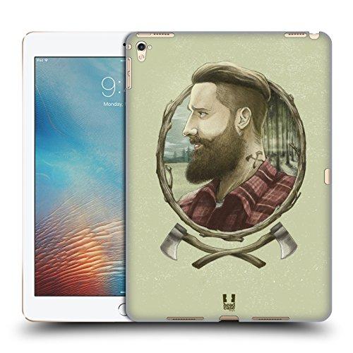 Head Case Designs Holzhacker Männliche Hipsters Ruckseite Hülle für iPad Pro 9.7 (2016)