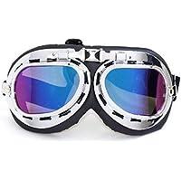SLYlive Retro- Weinlese-Flieger-Pilot Bike Motorcycle Cycling Goggles Eyewear Gläser