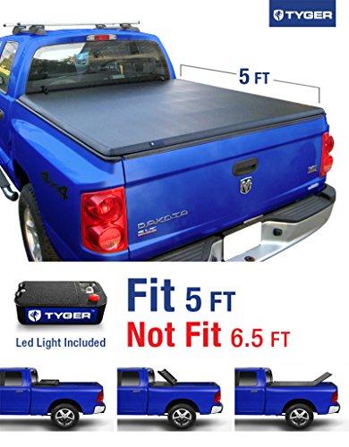 tyger-auto-tg-bc3d1013-tri-fold-pickup-tonneau-cover-fits-05-11-dodge-dakota-quad-cab-w-o-utility-tr