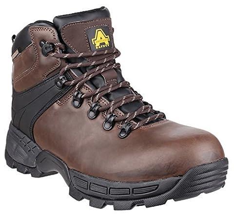 Amblers FS420 Caimen Waterproof Safety Work Boots Brown Hiker 6-12