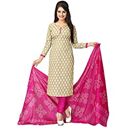 Vaamsi Women's Synthetic Dress Material (Deep1023_Light Olive Green_One Size)