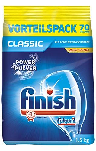 Finish Classic Reiniger-Pulver, Geschirrreiniger Pulver, 1,5 kg