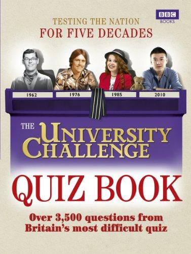 The University Challenge Quiz Book por Steve Tribe