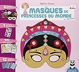 Mes masques de princesses du monde à décorer...