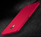 PREVOA Colorful Plastique dur Coque Protection Case pour Meizu M3 Max Smartphone 6,0 Pouces - - Roouge