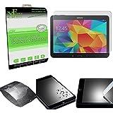 "Xtra-Funky Serie Samsung Galaxy TAB 4 (10.1"") Ultra Fino 0.26mm Cristal Templado Protector Pantalla 9H a Resistente a Los Arañazos - Tempered Glass"
