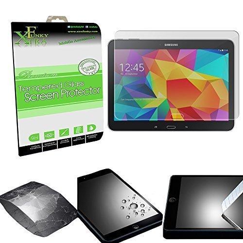 """pellicola tablet 10.1 Xtra-Funky Vetro Temperato Compatibile con Samsung Galaxy TAB 4 (10.1"""" T530 Reihe)"""