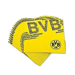 Borussia Dortmund BVB Servietten 20er Set