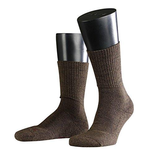 Preisvergleich Produktbild FALKE Unisex Socken Walkie Light 2er Pack,  Größe:35 / 36;Farbe:dark brown
