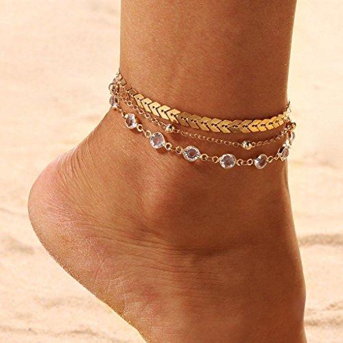 Fußkette Fußkettchen In Silber Mit Lederband In Weiß Und Zwei Anhängern Boho Modern Design Anklets Fashion Jewelry