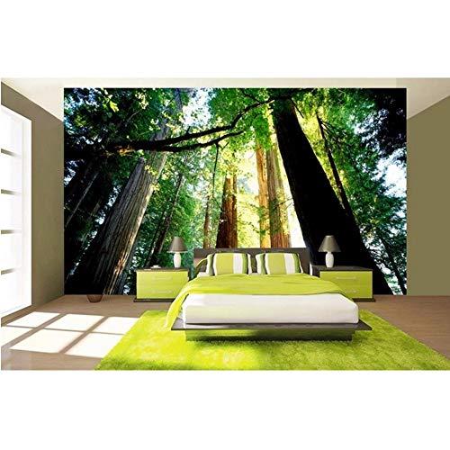 sche Highland Waldlandschaft Vliestapete Modernes Tv-Hintergrund Papel De Parede 3D Europeu-200X140Cm ()