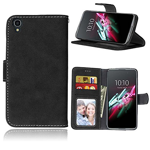 Cozy Hut Alcatel One Touch Idol 3 (4,7 Zoll) Hülle, TPU Silikon Hybrid Handy Hülle Matte Series Case Durchsichtig Stoßfest Tasche Schutz Scratch-Resistant Protection Case Tasche Schutzhüll