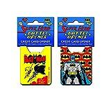 Batman Pop Art Credit Card Bottle Opener by Adventure Trading
