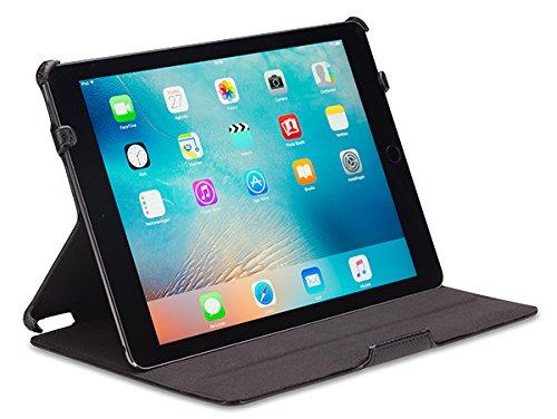 Gecko Apple iPad Air 2 Hülle Slimfit - Schwarz - Multifunktionelle Tasche bietet Schutz und Multimedia-Komfort / Cover mit automatischen Aufweck/StandbyFunktion - Tablethülle geeignet für iPad Air 2 A1566 / A1567