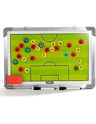 Katech Football Coach tactiques Tableau Cadre en alliage d'aluminium Soccer Coaching Tableaux magnétiques écran stratégique