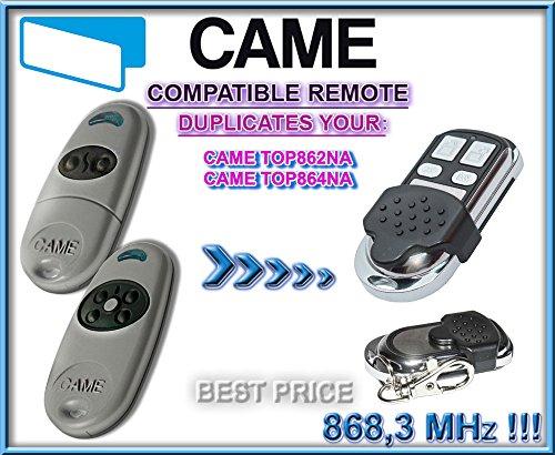 CAME TOP862NA/came TOP864NA kompatibel Fernbedienung, 4Kanäle 868,3MHz Fixed Code Klonen. Ersatz hochwertigem für das beste Preis. - Torantriebe Control Board