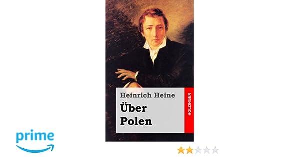 über Polen Amazonde Heinrich Heine Bücher