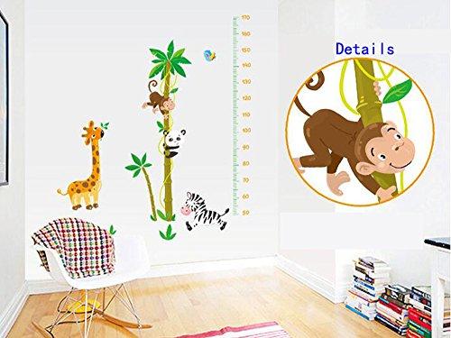 Animali Giraffe Panda scimmia Zebra albero di