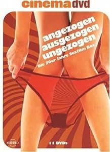 Angezogen, ausgezogen, ungezogen - Die 70er Jahre Sexfilm Box [11 DVDs]