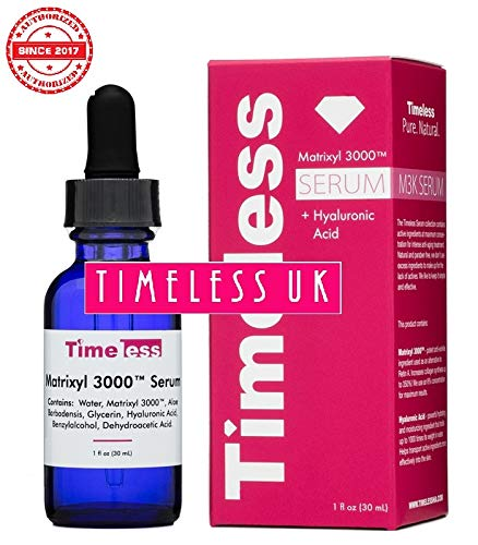 Timeless Skin Care Matrixyl 3000 Serum W/ Hyaluronic Acid 30ml / 1oz - From Timeless UK© the...