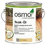 Osmo Teak-Öl Farblos (007) 2,5 Liter