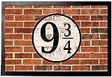 Mure di Mattoni - Binario Nove E Tre Quarti Zerbino (60 x 40cm)