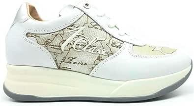 ALVIERO MARTINI Donna Sneaker con Geo Classico Bianco MOD. 0623 0030