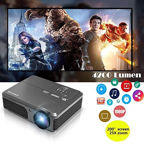 LED projecteur 1080p Full HD 4200 Lumens WXGA