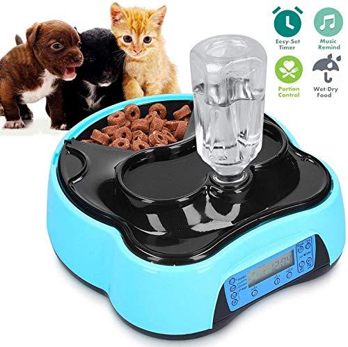Futterautomat Automatischer Futterspender für Katze und