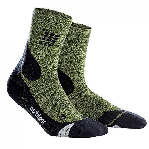 CEP Dynamic+ Outdoor Merino Mid-Cut Socken (High-cut-socken Der Männer)