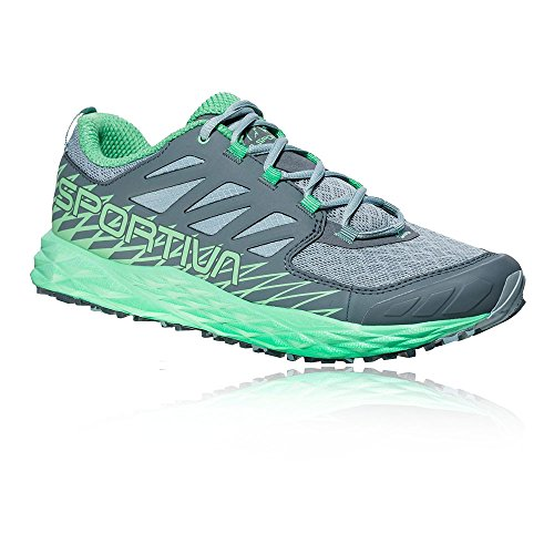 La Sportiva Lycan Woman, Scarpe da Trail Running Donna, Multicolore (Stone Blue/Jade Green 000), 38 EU