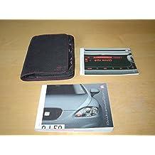 SEAT LEON OWNERS HANDBOOK (2006 - 2012) CUPRA - 1.4 1.6 1.8 2.0 PETROL