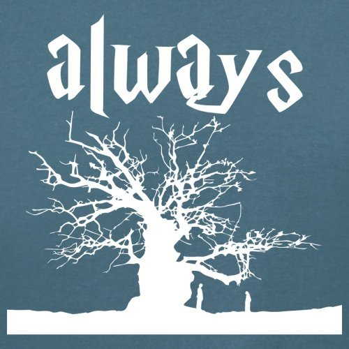 Always Tree - Damen T-Shirt - 14 Farben Indigoblau