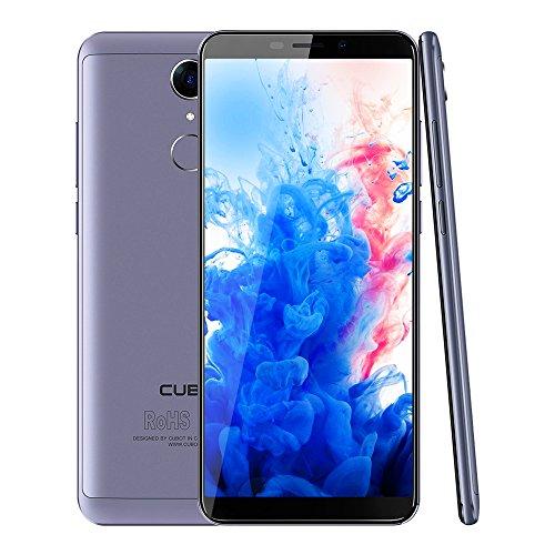 CUBOT Nova 4G LTE Smartphone Ohne Vertrag 5.5 Zoll(18:9) HD+ Display 13.0MP+ 8.0MP Kamera,Dual SIM, Android 8.1,3GB RAM+16GB ROM Speicher,Fingerabdruck Sensor,2800mAh Akku (Blau)