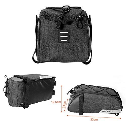 Roswheel Gepäckträger Tasche Seitentasche - 3
