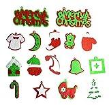 Prima volta unico 30PC set di decorazioni per albero di Natale. Doppio tono base in feltro. Decorazione per albero di Natale. soggiorno/indoor/outdoor/Home Docoration/Christmas Gift for Kids...
